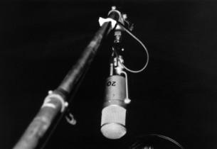 Patti LuPone in the recording studio