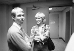 Jon Engstrom and Wanda Richert