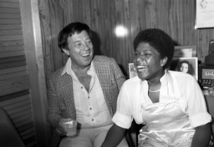 Cy Coleman and Terri White (photo:Don Hunstein)
