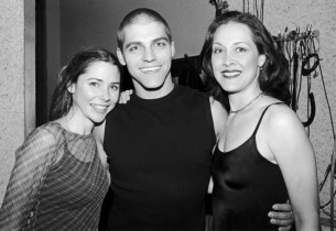 Kerry Butler, Deven May and Kaitlin Hopkins