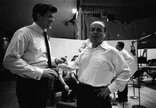 Peter Palmer and music director Lehman Engel