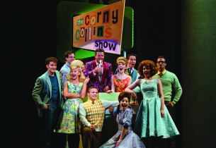Matthew Morrison, Laura Bell Bundy, Clarke Thorell, & Council Members as The Nic