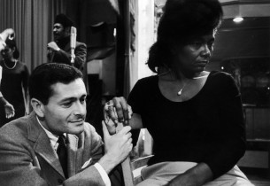 Jerry Herman and Pearl Bailey
