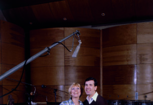 Jerry Orbach and Tammy Grimes