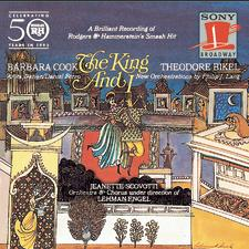 The King and I – Studio Cast Recording 1964