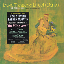 The King and I – Music Theater of Lincoln Center Revival 1964 Risë Stevens